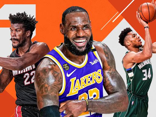 NBA 2020-2021 Power Rankings