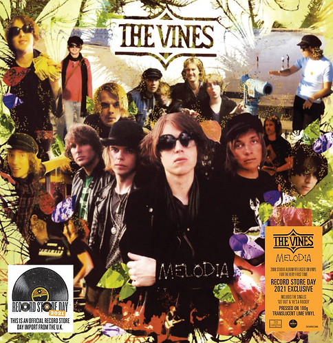 The Vines - Melodia (YELLOW AND GREEN VINYL)