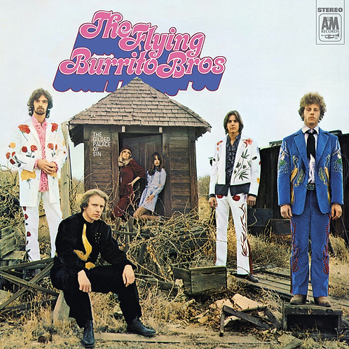 The Flying Burrito Brothers - The Gilded Palace Of Sin (2020 REISSUE VINYL)