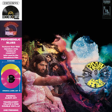 Canned Heat - Living The Blues (YELLOW + PINK VINYL)