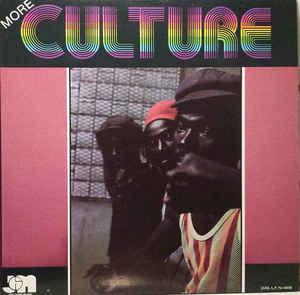 Culture - More Culture (VINYL)