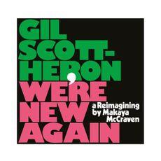 Gil Scott Heron - We're New Again  (#LRS LIMITED PINK VINYL)