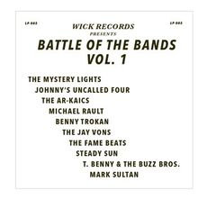 Various Artists: Wick Records, Battle Of The Bands Vol1 (VINYL)