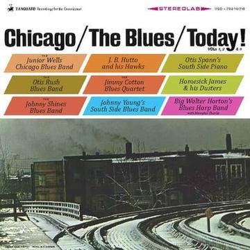 Various Artists  - Chicago/The Blues/Today! (3LP)