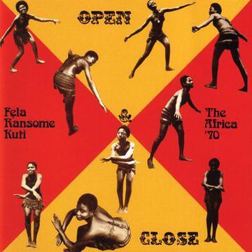 Fela Kuti - Open & Close (RED & YELLOW VINYL)