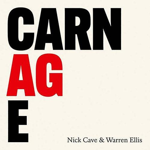 Nick Cave & Warren Ellis  - Carnage  (BLACK VINYL + 24 PAGE BOOKLET)