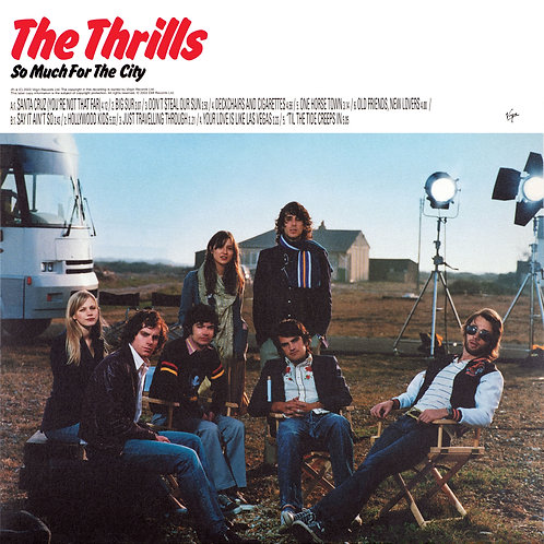The Thrills  - So Much For The City (COLOURED VINYL)