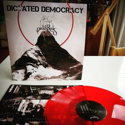 The Dead Reds - Dictated Democracy  (BLOOD RED VINYL)