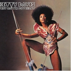 Betty Davis  - They Say I'm Different  (RED VINYL)