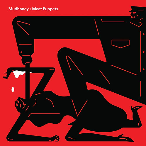 """Mudhoney & Meat Puppets - Warning / One Of These Days  (7"""" SINGLE)"""
