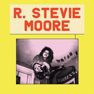 R Stevie Moore - R Stevie Moore On Earth  (2LP SPLATTER VINYL)