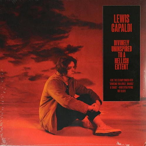 Lewis Capaldi - Divinely Uninspired To A Hellish Extent  (2LP CLEAR VINYL)