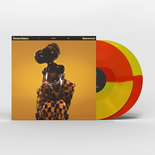 Little Simz - Sometimes I Might Be Introvert  (LIMITED RED/YELLOW VINYL)
