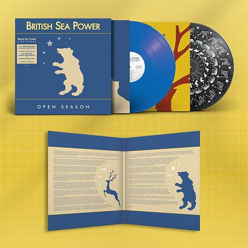 British Sea Power  - Open Season  (LIMITED NUMBERED 2LP BLUE VINYL)