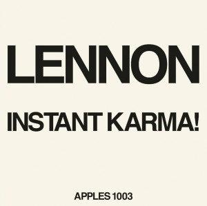 """John lennon - Instant Karma (7"""")"""