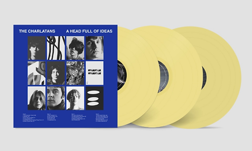 The Charlatans - A Head Full Off Ideas/ Trust Is for...  (3LP VINYL)