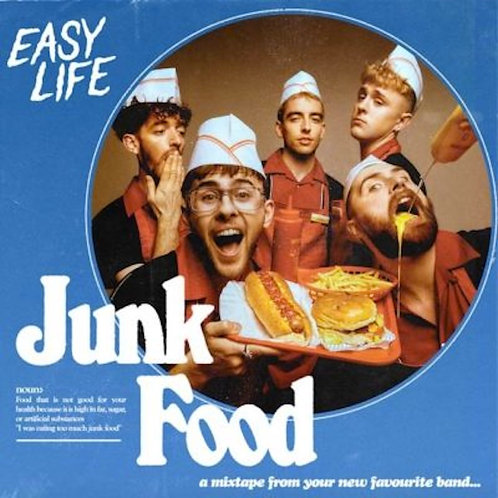 "Easy Life - Junk Food  (RED 12"" VINYL)"