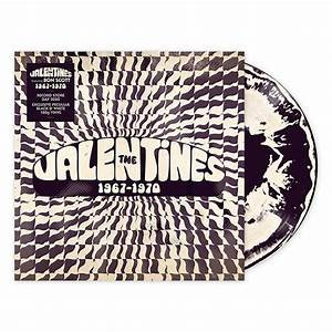 The Valentines - 1967-70  (BLACK WHITE VINYL)