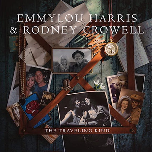Emmylou harris & Rodney Crowell - The Travelling Kind (VINYL)