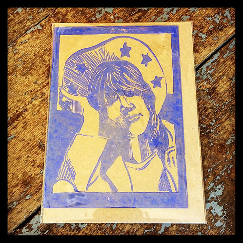 £40 GIFT VOUCHER - Exclusive Limited Hand-Printed Lino Cut Greeting Card
