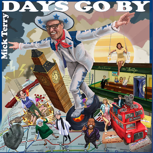Mick Terry - Days Go By  (VINYL)