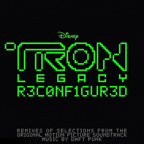 OST - Tron: ReConfigured  (2LP TRANSLUCENT GREEN VINYL)