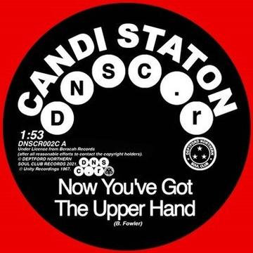 """Candi Staton & The Chappells - Now You've Got The UpperHand / You're... (RED 7"""")"""