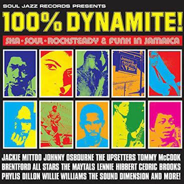 Various Artists - 100% Dynamite  (VINYL)