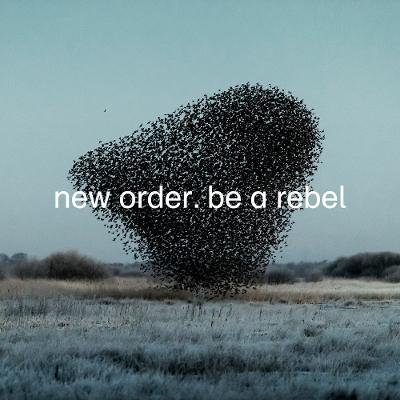 "New Order - Be A Rebel  (12"" LIMITED DOVE GREY VINYL)"
