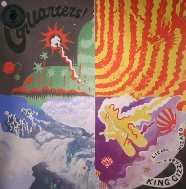 King Gizzard & The Lizard Wizard  - Quarters (VINYL)