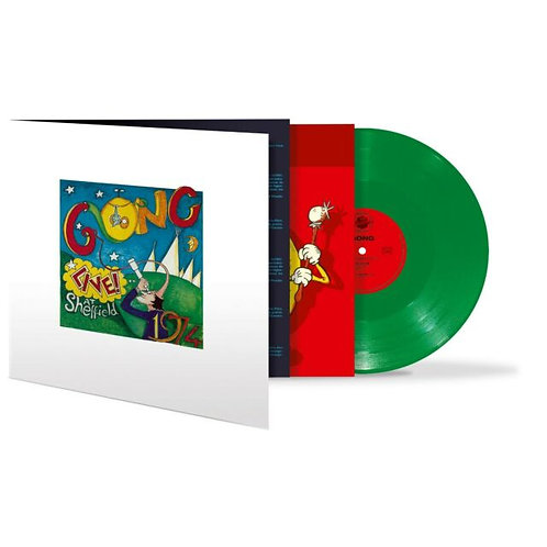 Gong  - Live In Sheffield 1974 (RED AND GREEN 2LP VINYL)