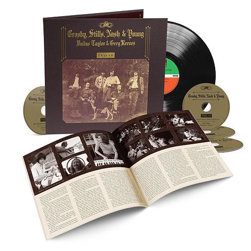 Crosby Stills Nash & Young  - Deja Vu  (50TH ANNIVERSARY EDITION 4CD + 1LP)
