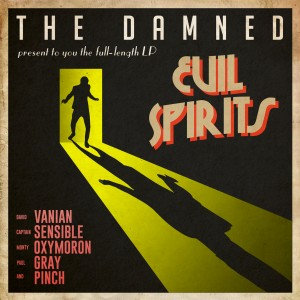 The Damned - Evil Spirits  (GREEN VINYL)