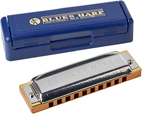 Hohner - 'BLUES' Harp  (KEY 'A')