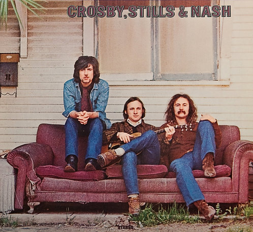 Crosby Still & Nash   - Crosby Still & Nash  (VINYL)