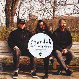 Sebadoh - Act Surprised  (WHITE VINYL)