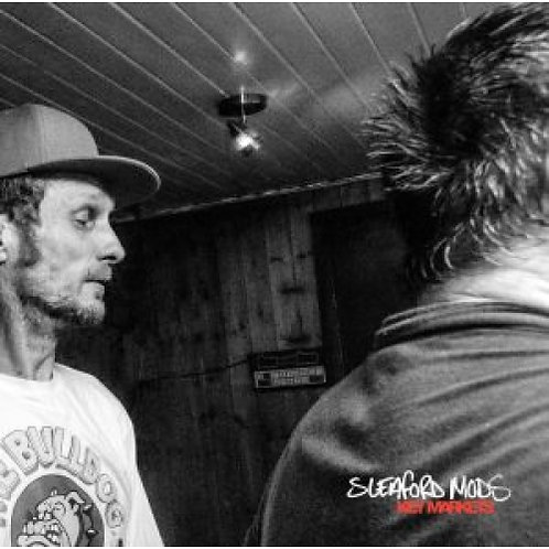 Sleaford Mods - Key Markets 2020 Reissue (RED + WHITE SPLATTER VINYL)