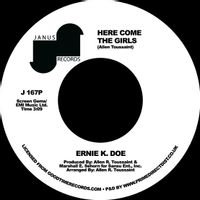 "Ernie K Doe - Here Come The Girls  (7"" SINGLE)"