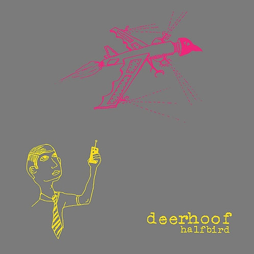 Deerhoof  - Halfbird  (PINK/YELLOW VINYL)