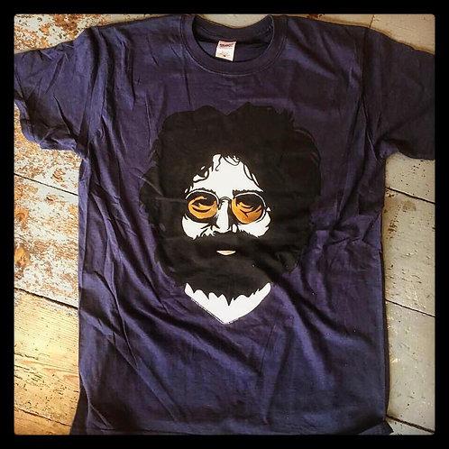 Jerry Garcia- Face T-Shirt  (MEDIUM)