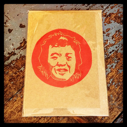 £30 GIFT VOUCHER - Exclusive Limited Hand-Printed Lino Cut Greeting Card