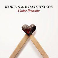"""Karen O & Willie Nelson - Under Pressure (7"""")"""