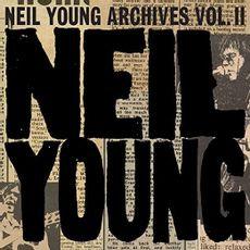 Neil Young - Archives Vol 2  (10CD BOXSET)