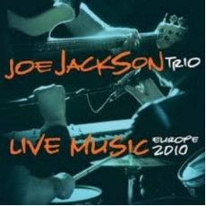 Joe Jackson Trio  - Live Music Europe 2010  (ORANGE 2LP VINYL)