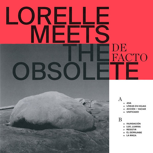 Lorelle Meets The Obsolete  -De-Facto  (RED VINYL)