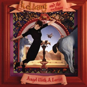 KD Lang - Angel With A Lariat  (RED VINYL)