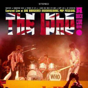 The Who - A Quick One Live  (TRI COLOURED VINYL)