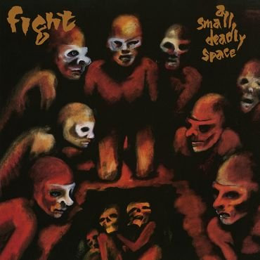 Fight - A Small Deadly Place   (RED/BLACK MARBLE VINYL)