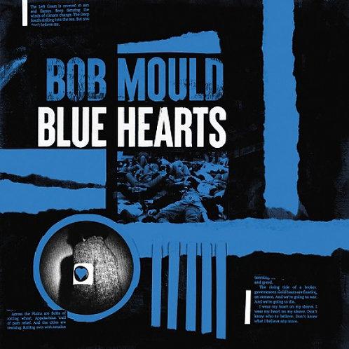 Bob Mould - Blue Hearts  (LIMITED  WHITE, BLACK & BLUE VINYL)