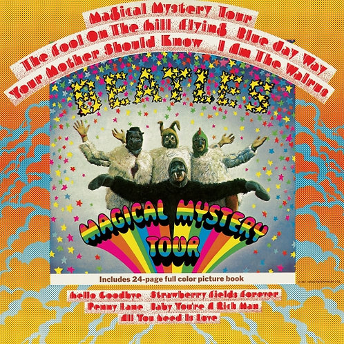 The Beatles - Magical Mystery Tour  (STEREO REMASTERED 2LP VINYL)